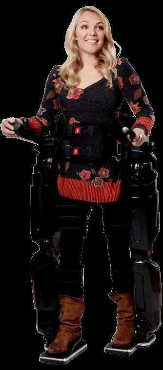 Mai più sedie a rotelle: arriva l'esoscheletro robot