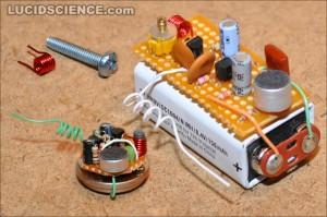 Schema per costruire una radio
