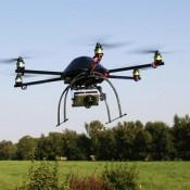 elicottero per videosorveglianza aerea