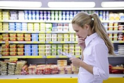 Al supermercato con il navigatore