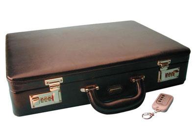 Una valigia di sicurezza per trasportare oggetti e documenti importanti