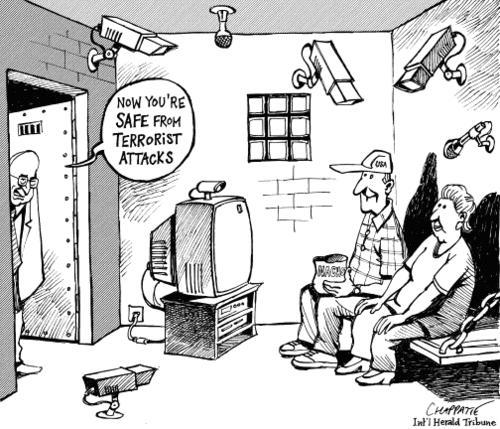 terrorism and surveillance