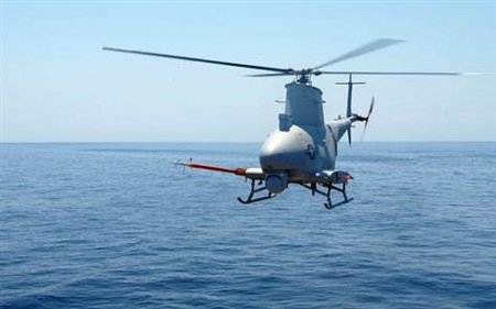 From the United States, an helicopter drone for surveillance against pirates