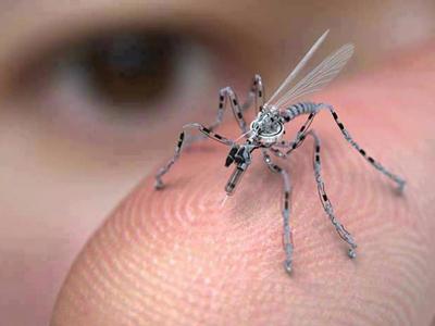 mosquito drone mockup