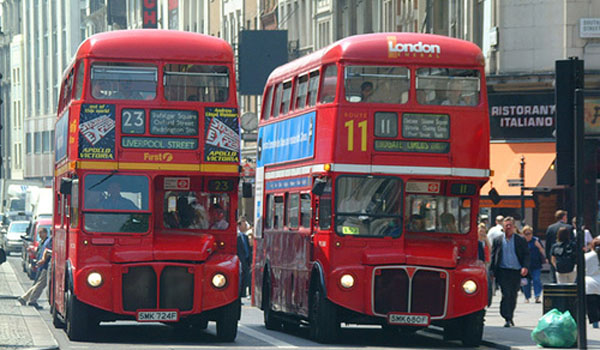Pay for the bus with the smartphone? In London you can