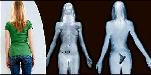 How airport body scanners work