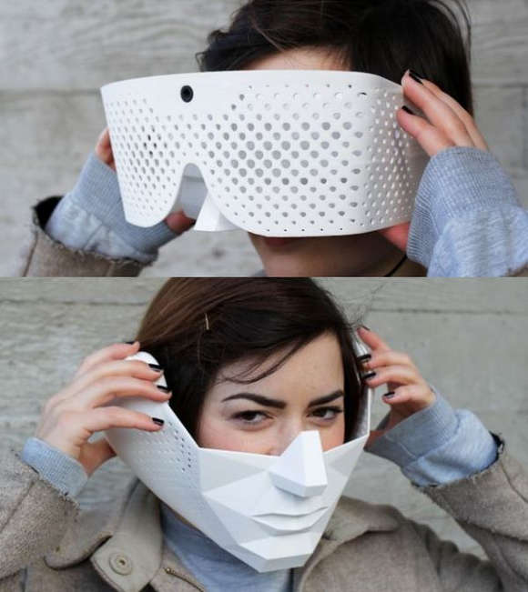 Two masks to have super powers