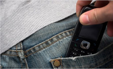 Stop mobile phones theft