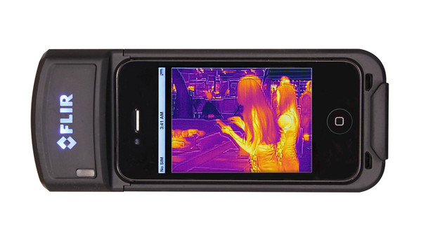Infrared camera for smartphone
