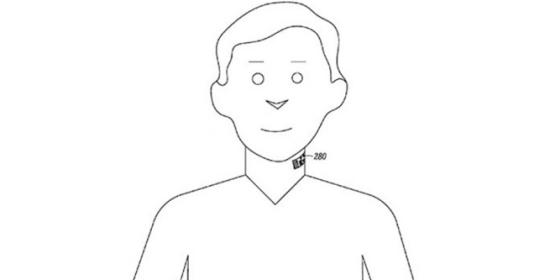 Wearable Technology: tattoo-microphone by Motorola