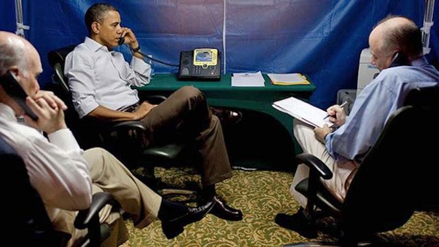 Anti spy tent: Obama outwits spies