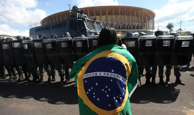 """World Cup in Brazil: """"one of the most secure event in the history"""""""