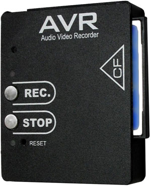 Micro Digital Audio and Video Recorder AVR