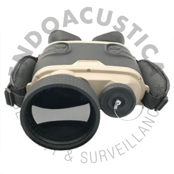 Military thermal binoculars for night vision