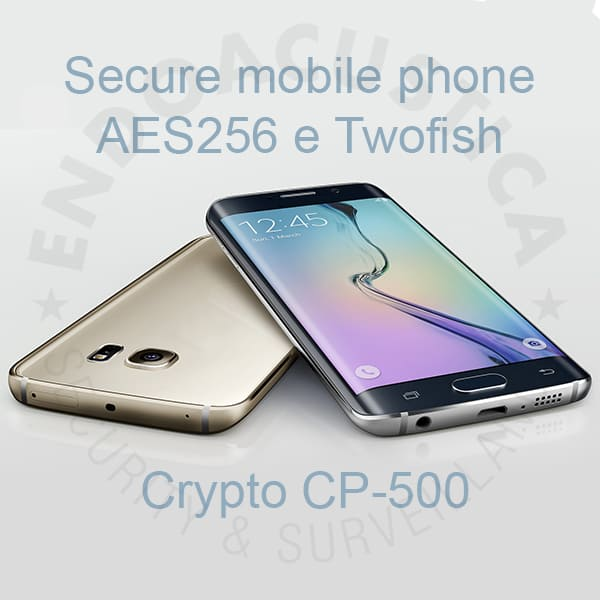 Encrypted GSM mobile phone for secure calls