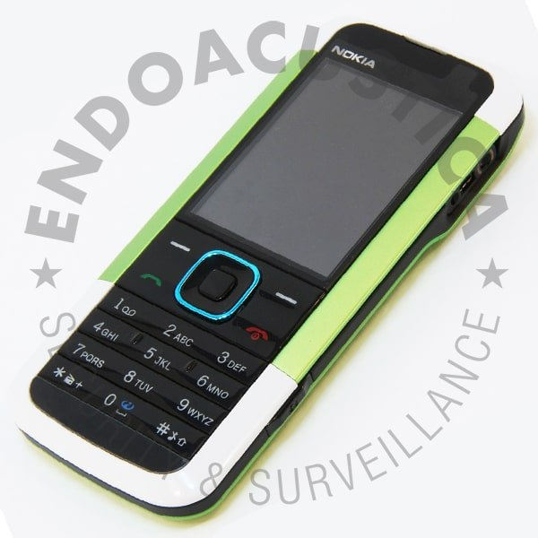 Undetectable Nokia 5000-D2 cell phone with SMS encryption
