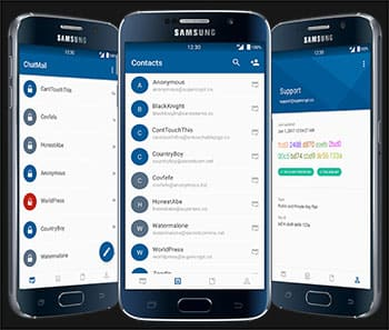 Email PGP encryption and security software for mobile