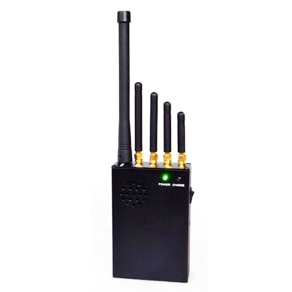 Compact multiband cell phone jammer