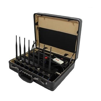Adjustable Five Band Mobile phone jammer