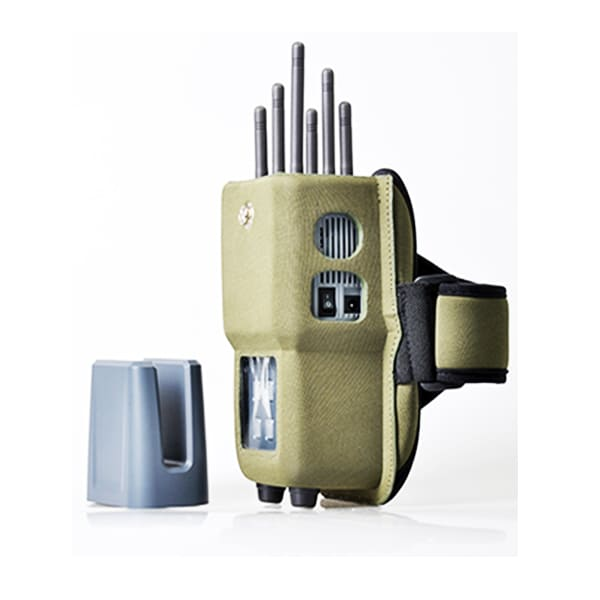 6-antenna handheld jammer for CDMA, GSM, WI-FI, 3G, LTE 4G systems