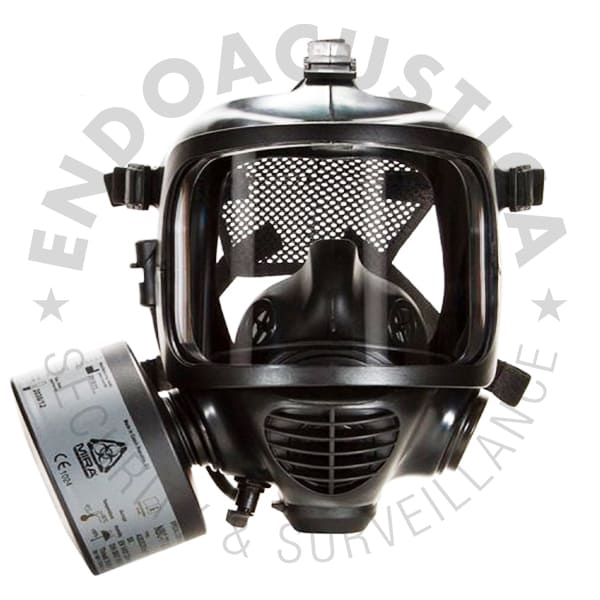 Protection kit with gas mask