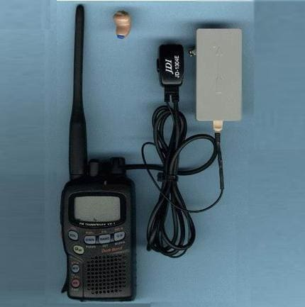 Micro earpiece and transceiver kit system