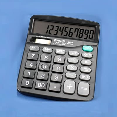 GSM spy desk calculator