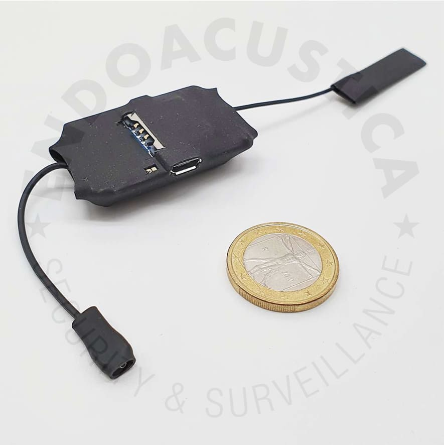 Voice activated GSM audio transmitter