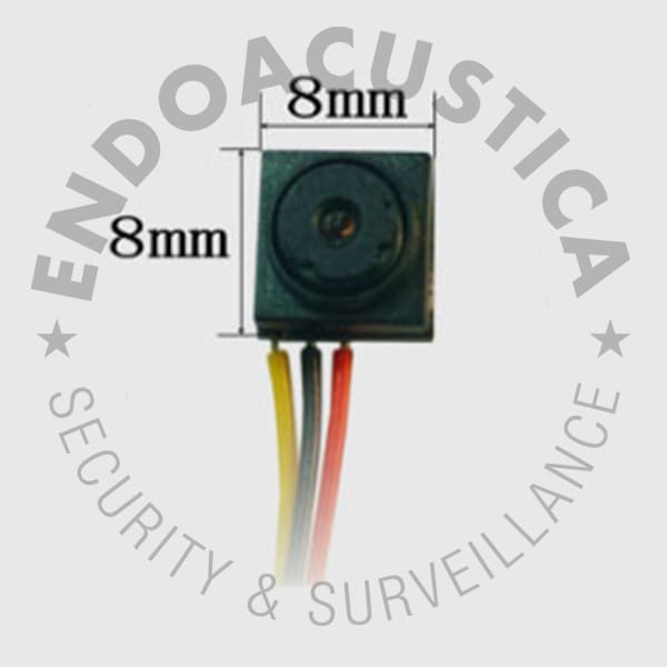 Video surveillance spy micro camera for CCTV systems