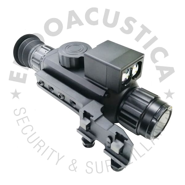 Night vision weapon laser viewfinder