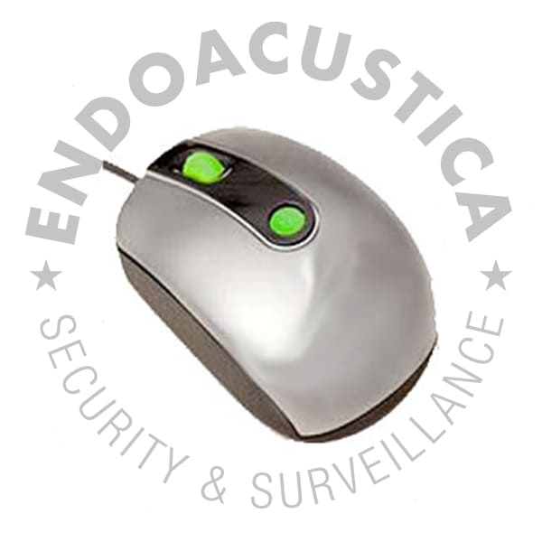 Encrypted mouse for instant data backup