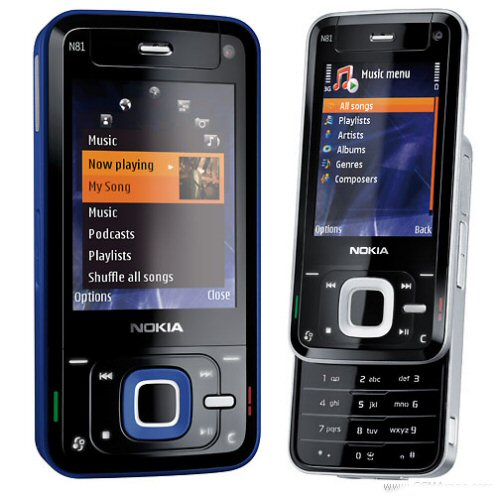 Nokia Spyphone N81 8GB front view