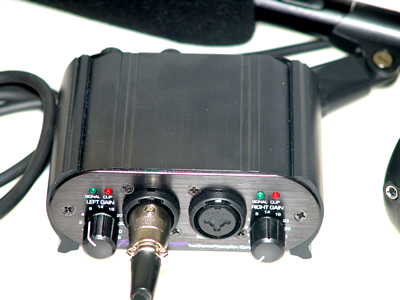 directional amplified microphone