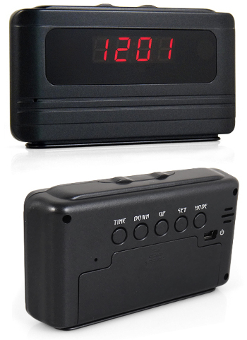 Video Recorder Alarm  Clock