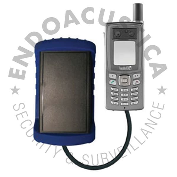 Encrypted satellite phone with GSMK CryptoPhone technology